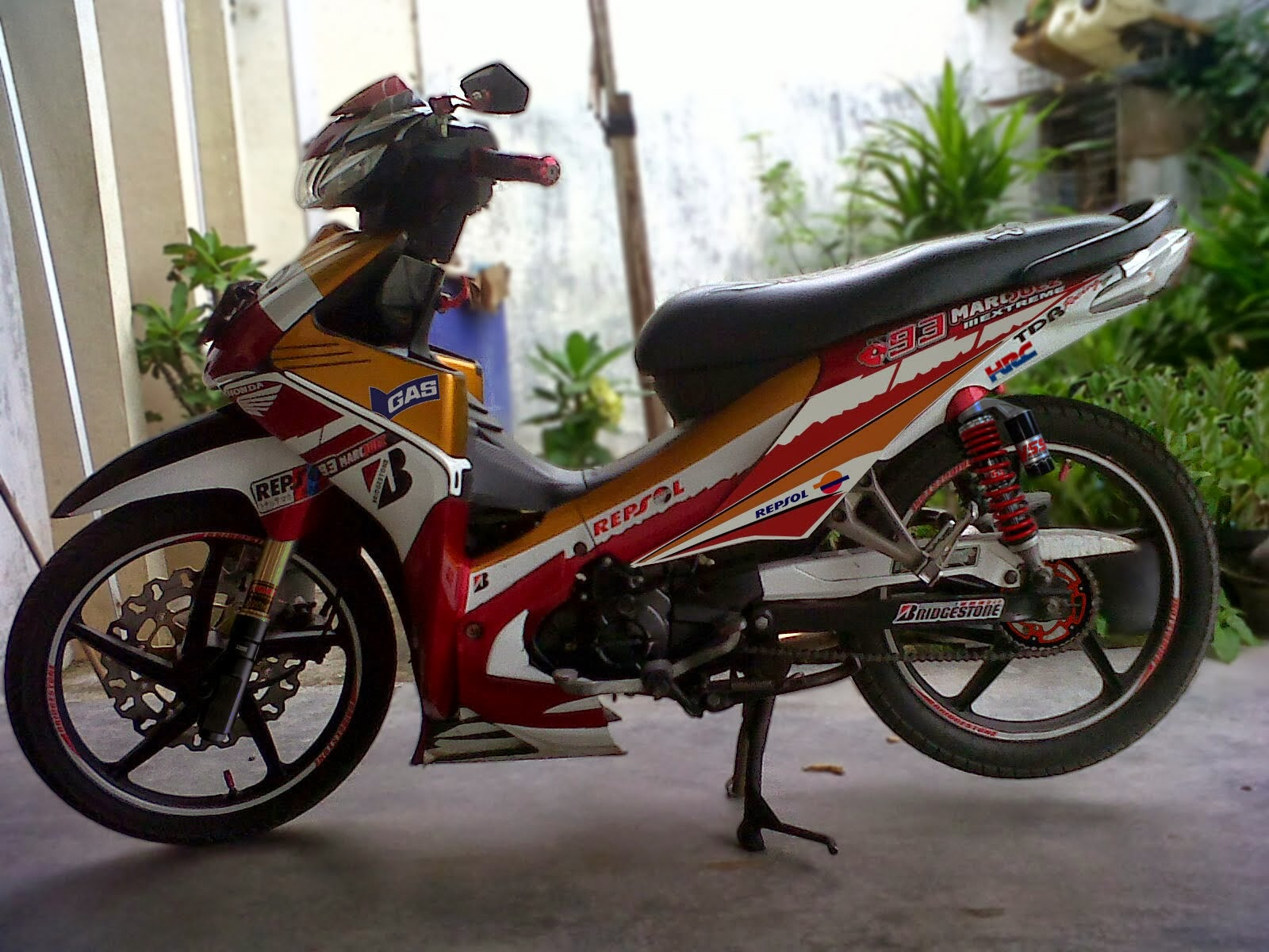 Koleksi Modifikasi Motor Supra Fit 110 Cc Terbaru Palm Modifikasi