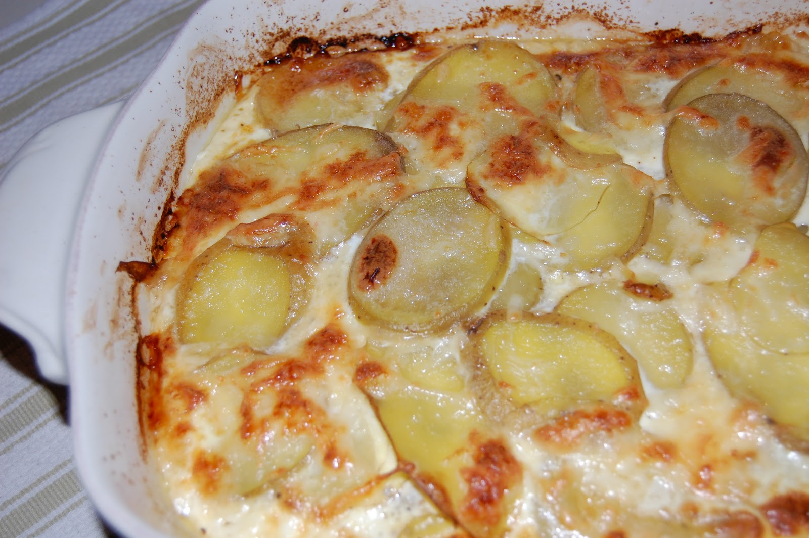 Kitchen Groovy: Three Cheese Potato Gratin