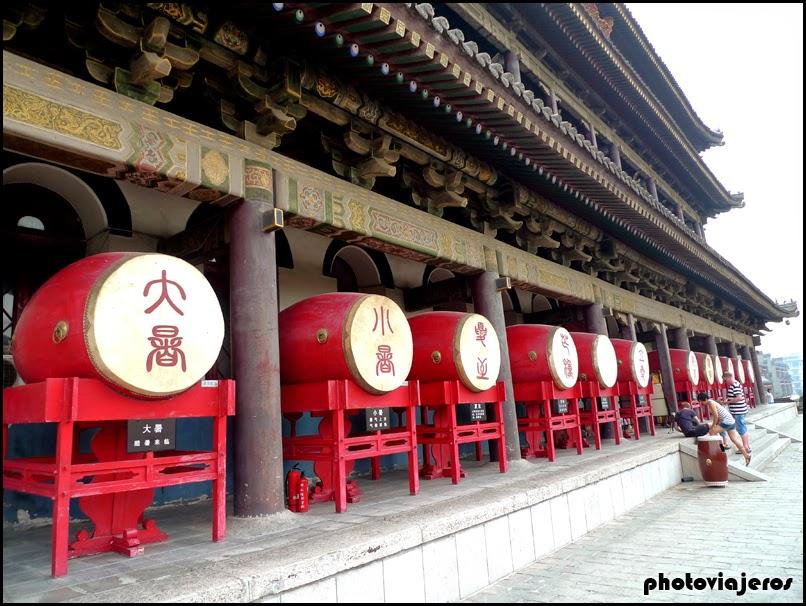 Torre del tambor Xi'an