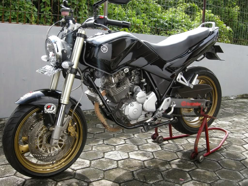 Modifikasi Scorpio Z Jadi Trail