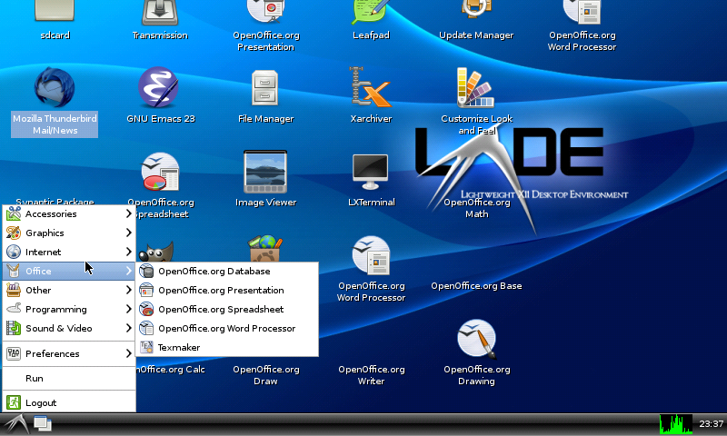 Desktop LXDE