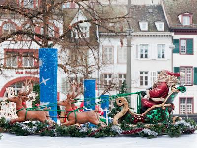 Auf dem Basler Weihnachtsmarkt