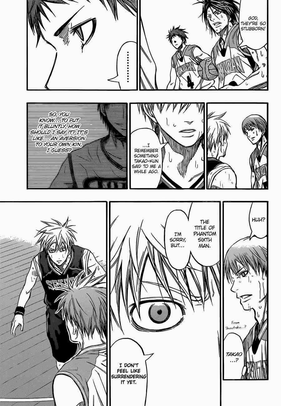 Kuroko no Basket Manga Chapter 248 - Image 17