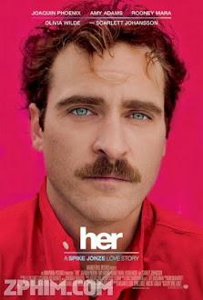 Hạnh Phúc Ảo - Her (2013) Poster