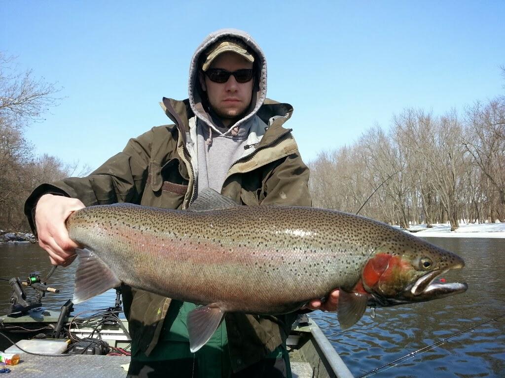 Grand River Steelhead Fishing Guide Trips