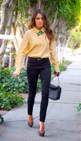 How To Chic Nikki Reed Street Style