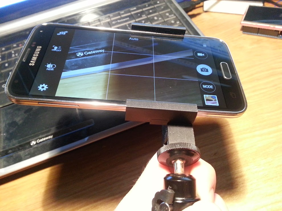 Galaxy S5 Tripod Mount