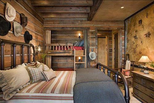 Phòng ngủ mộc mạc cho mùa đông ấm áp-2