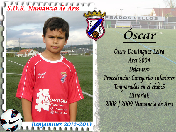 ADR Numancia de Ares. Óscar.