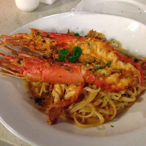 Spasso Milano Freshwater Shrimp Fettuccine