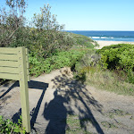 GNW sign beside the ocean (339559)