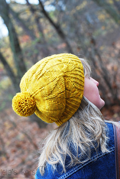 gorro punto bonito beautiful knit hat yellow amarillo