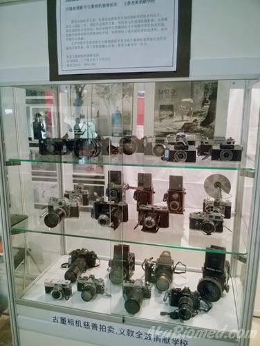 Koleksi kamera lama mengunakan filem