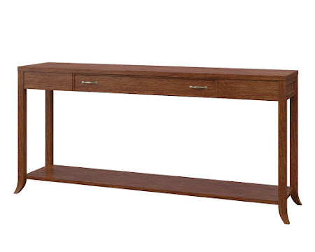 Strafford Sofa Table in Old Master Quarter Sawn Oak
