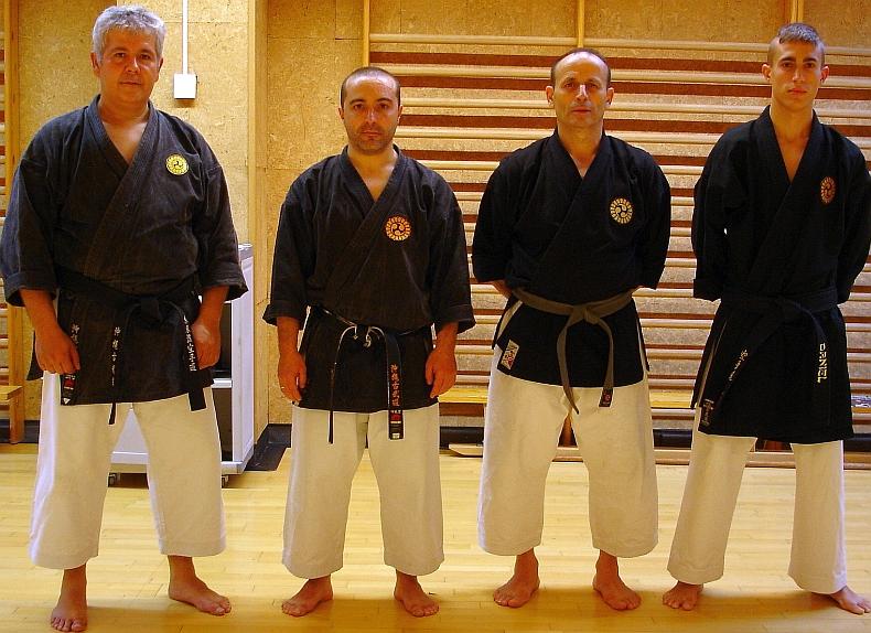 Pedro Sánchez, Sebastián Reina, Mariano Custodio y Daniel Fernández