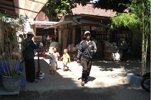 Kampong ambience in Kampoeng Ilmu