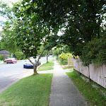 Walking along Handley Ave (395063)