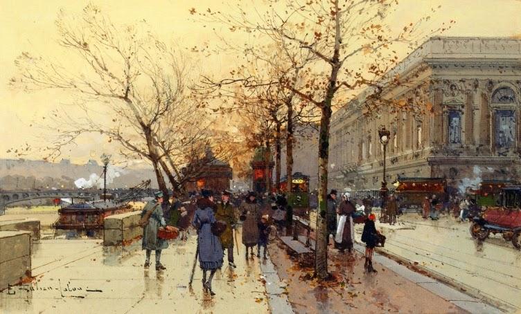Eugène Galien-Laloue - Les Quais De Paris