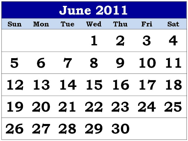 june 2011 calendar printable free. printable june calendar 2011.
