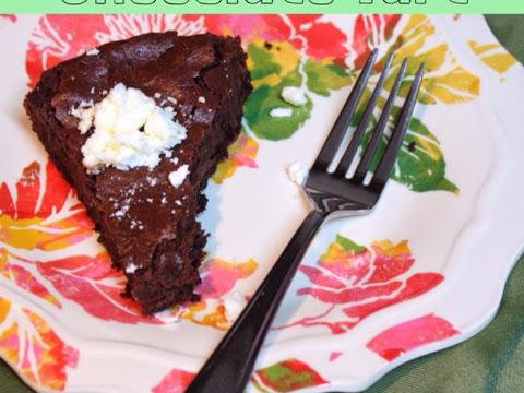 Thin Mint Chocolate Tart
