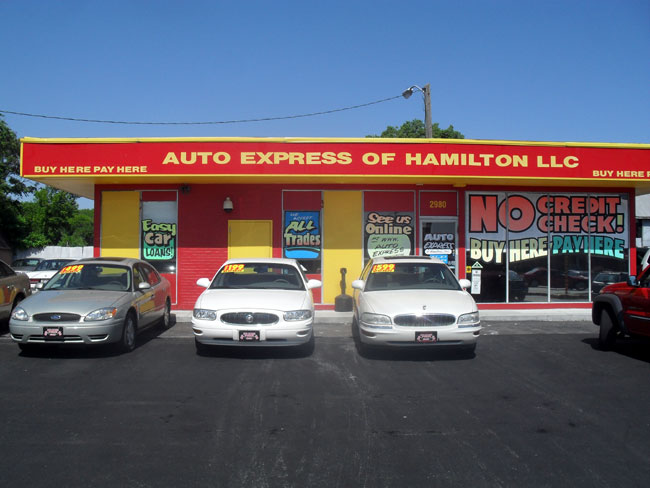 Buy Here Pay Here Hamilton Ohio | Auto Express Of Hamilton at 2980 Dixie Hwy, Hamilton, OH