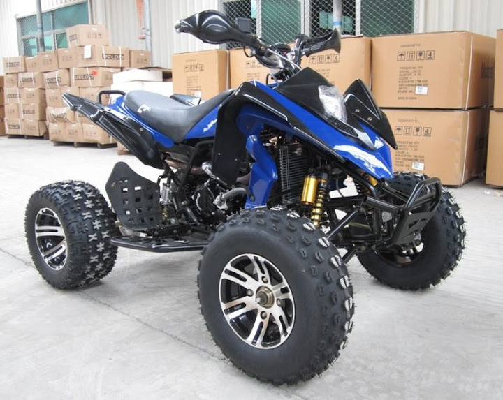 250cc 4 Valve Engine Alloy Mag Wheels Sports Quad Bike
