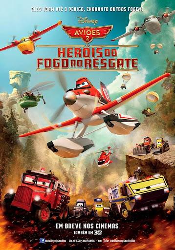 Aviões 2: Heróis do Fogo ao Resgate TS Dublado – Torrent XviD (2014)
