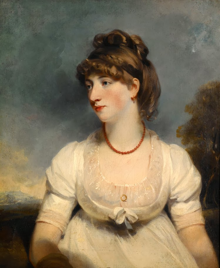 John Hoppner - Portrait of Miss Fisher