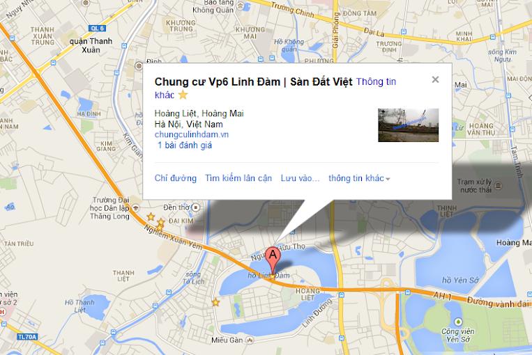 Câp nhật tiến độ Chung cư Vp6 Linh Đàm ngày 25/03/2014
