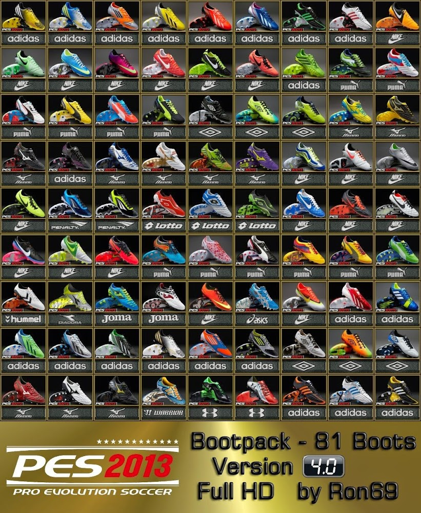 Bootpack 4.0 by Ron69 - PES 2013