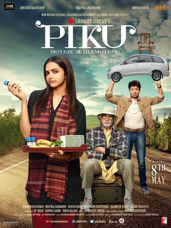 Irrfan Khan-Deepika Padukone, 'Piku'