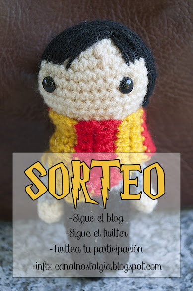 Sorteo Harry Potter amigurumi