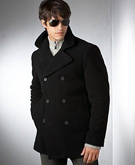 Men Pea Coats - Winter Coats