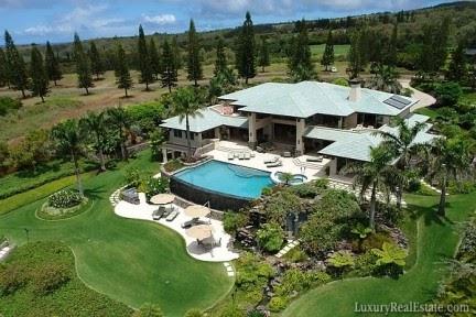 Villa di lusso da sogno alle hawaii for Ville da sogno interni