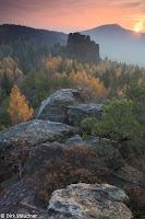 Sonnenuntergang am Hochwald (http://Naturfoto-Steudner.de)