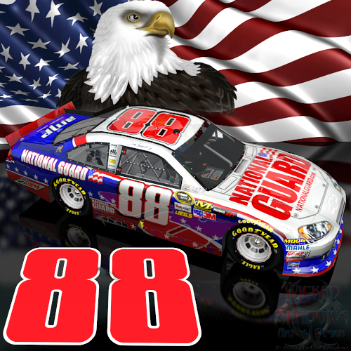Wallpapers By Wicked Shadows: Dale Earnhardt Jr NASCAR