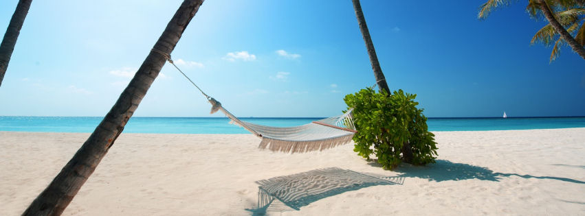 Maldives islands facebook cover