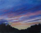 Twilight Sky No. 2 - Original Painting
