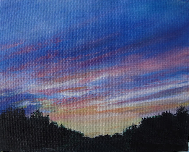 Twilight Sky 2 - Original Painting