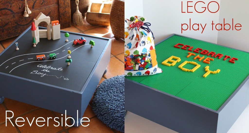Piccoli Piselli: Reversible LEGO Playtable