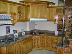 Tủ bếp gỗ tự nhiên BESM0113