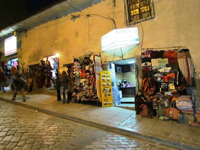 Fotos de la calle Sagárnaga en La Paz