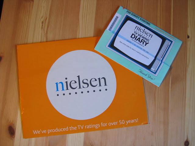 nielsen tv viewing diary