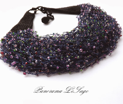 Rosa naszyjnik szydełkowy biżuteria szydełkowa Panorama LeSage Naszyjnik kolia jablonex toho komplet biżuterii koraliki film Rosa crochet necklace crochet jewelry necklace necklace Panorama LeSage Jablonex toho beads jewelery set movie
