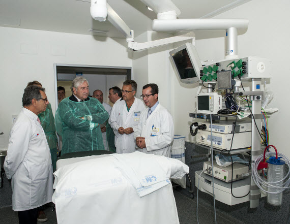 Nueva Unidad de Endoscopias del Hospital de La Princesa