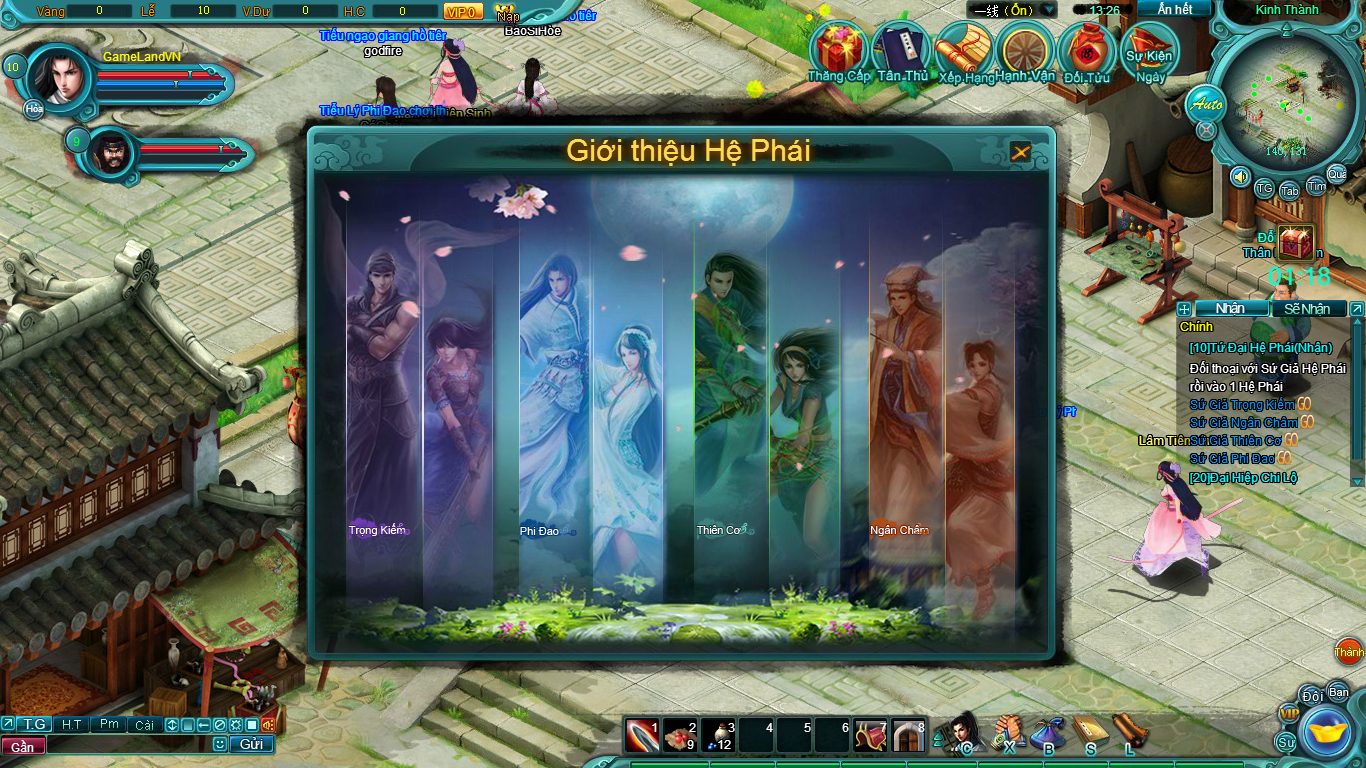 Hình ảnh thử nghiệm webgame Tiểu Lý Phi Đao - Ảnh 5