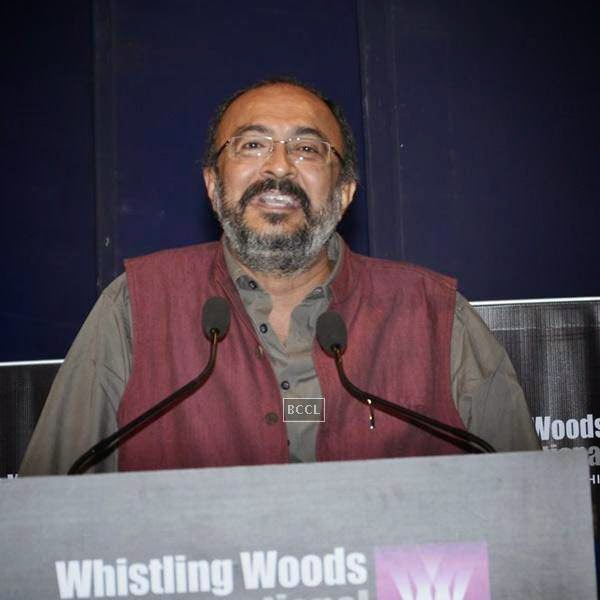 Govind Nihalani during Whistling Woods International's 7th Annual convocation in Mumbai. (Pic: Viral Bhayani)