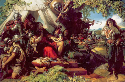 Daniel Maclise - King Cophetua and the Beggar Maid