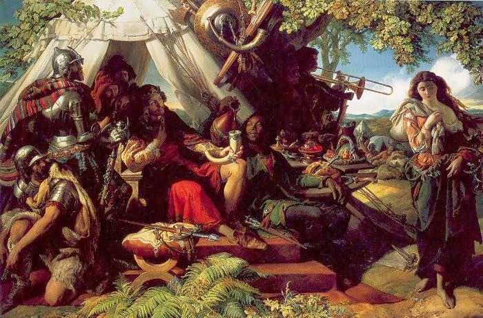 Daniel Maclise - King Cophetua and the Beggar Maid