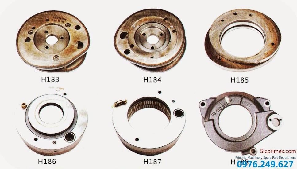 Chuyên cung cấp linh kiện máy in Heidelberg chính hãng giá tốt nhất H183-188